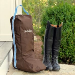 Personalized Boot Bag