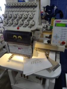 Joe the Retired Embroidery Machine