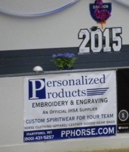 Personalized Products sign