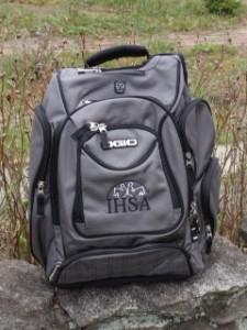 IHSA backpack