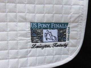 Pony Finals 2015 Special Edition Saddle Pad