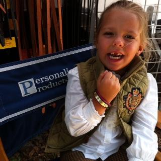 Pony Finals 2015 Nameplate Bracelets