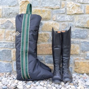 Equestrian Bag and Boots