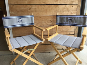 Telescope director chairs make an excellent addition to your tack room