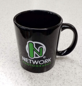 custom designed mug with company logo from Personalized Products